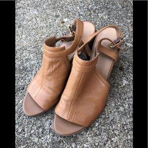Franco Sarto Camel Color Sandals
